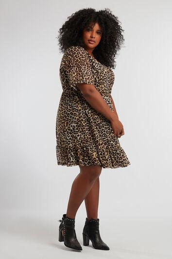 Kleid mit Tiermotiv