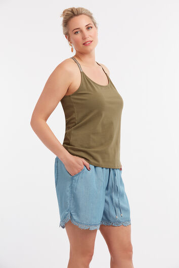 Tencel Shorts