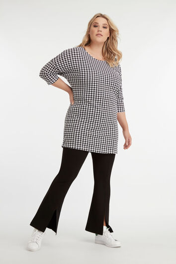 Lookbook Flared legging with splits