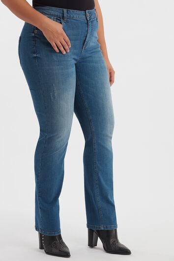 ROSE Loose-Leg Jeans