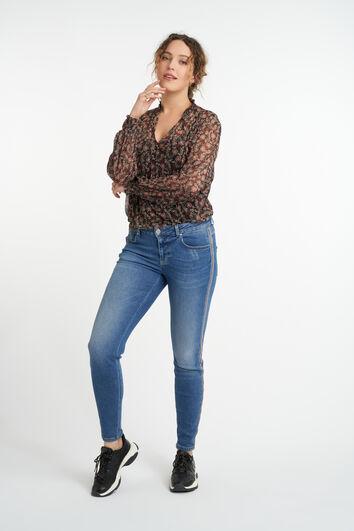 Jeans mit Seitendetail