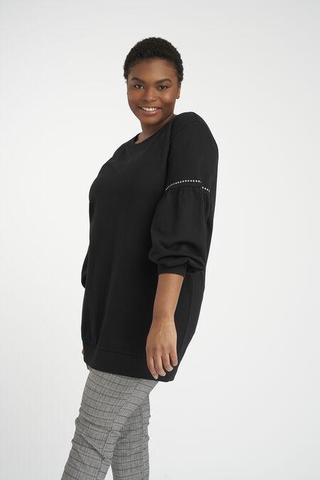 Sweatshirt mit bauschigen Ärmeln
