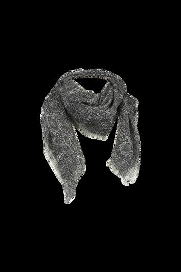 Dünner Schal mit Schlangen-Print