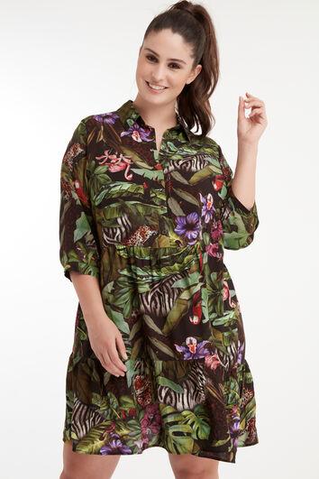 Dschungel-Kleid