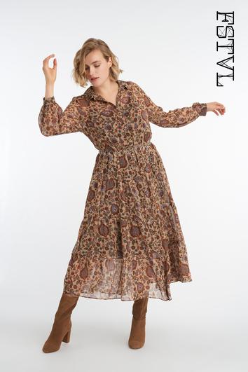 Romantisches Maxi-Kleid