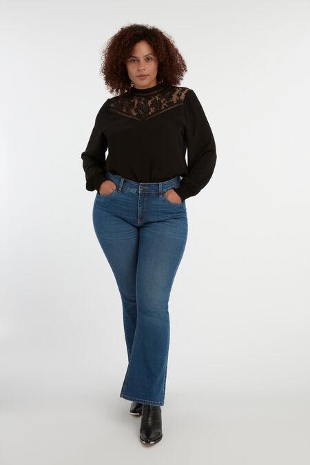 Magic Simplicity Flared-Leg SHAPES Jeans
