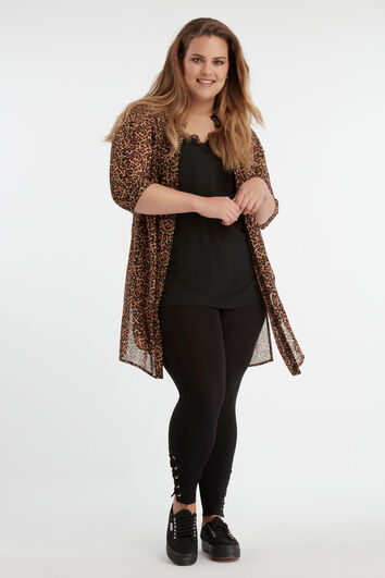 Lookbook Leopard blouse