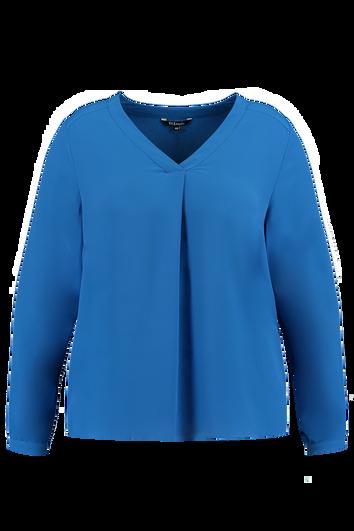 Einfarbige Bluse