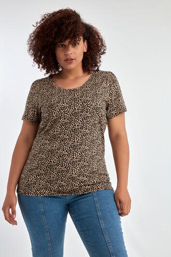 Kurzärmliges Shirt mit Print