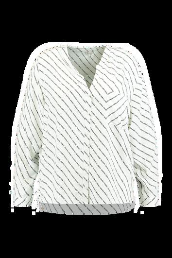 Bluse mit Brusttasche