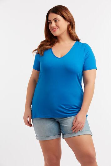 Einfarbiges T-Shirt
