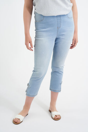 Slim-Fit-Treggings in 7/8-Länge