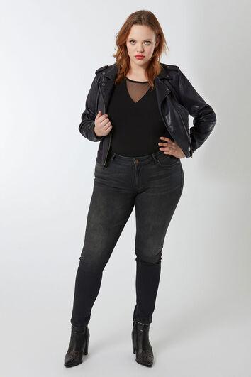 O typ skinny jeans schwarz