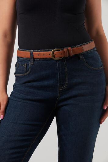 Basic-Jeansgürtel