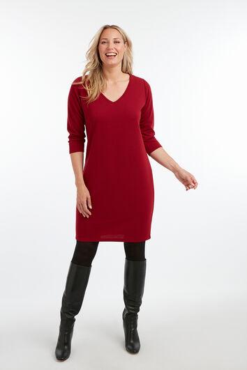 Kleid im Ripp-Design