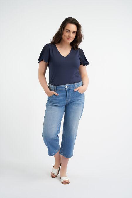 Straight-Leg-Jeans in 7/8-Länge