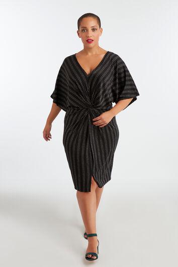 Kleid mit Lurex