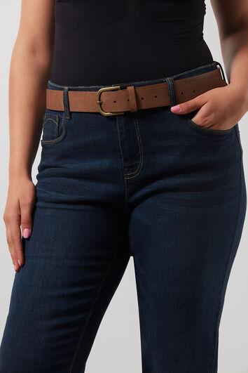 Basic Jeans-Gürtel