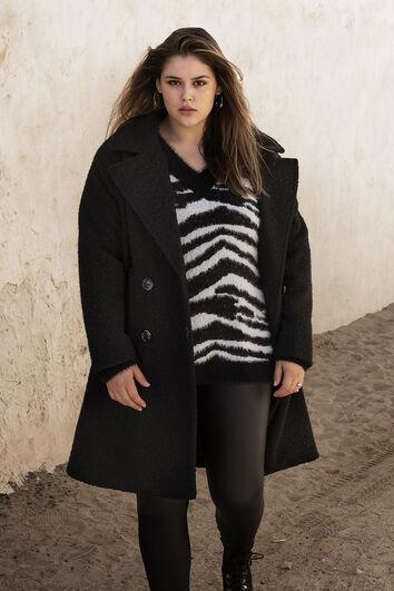Sweater mit Zebramuster